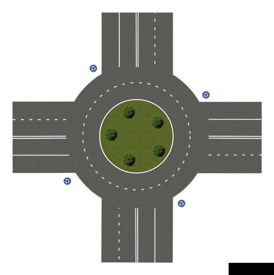 Правила проезда перекрестков 55
