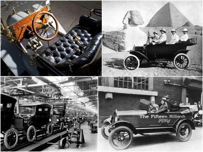 Ковейер Форда и пятнадцатимиллионный Ford T.