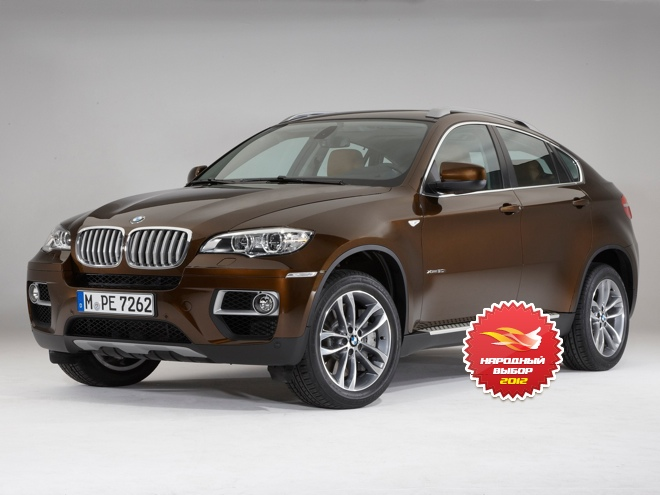 BMW X6, «Народный выбор 2012» на Autoua.net