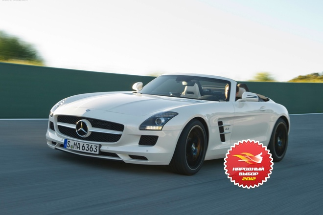Mercedes-Benz SLS AMG, «Народный выбор 2012» на Autoua.net